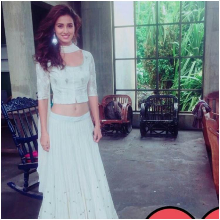 Disha Patani looks mesmerising in white as she shares a throwback pic from her first film