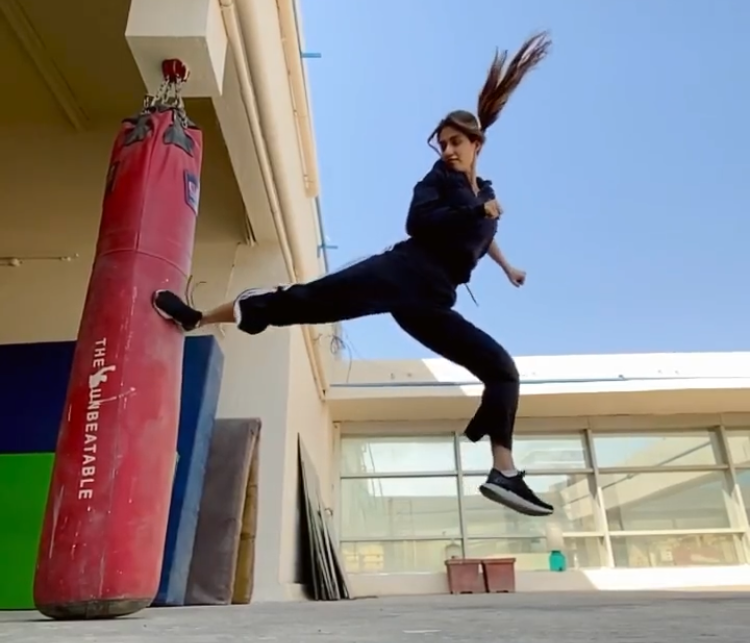 Disha Patani shared a throwback kickboxing video on social media and it is the perfect Monday motivation we need to work out at home during quarantine