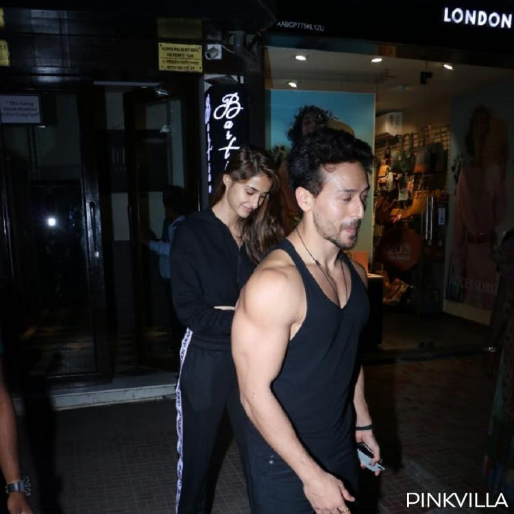 Tiger Shroff and Disha Patani make for a stunning couple as they were spotted on a dinner date; See Photos