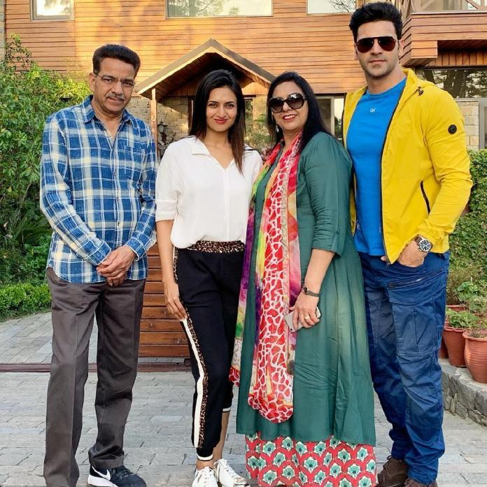 Divyanka Tripathi Dahiya and Vivek Dahiya take a break from work and spend time with their family; see pics