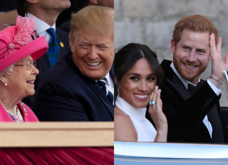 Donald Trump revealed in an interview about what he felt regarding Prince Harry and Meghan Markle's controversial decision.