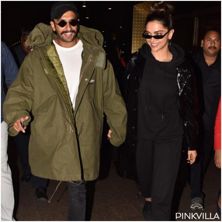 PHOTOS: Deepika Padukone and Ranveer Singh get spotted at the airport as the '83 stars return to the bay