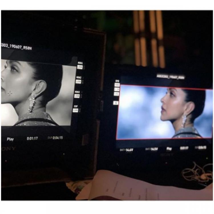 Deepika Padukone shares a BTS still from her shoot and we are excited to see what is it; check it out