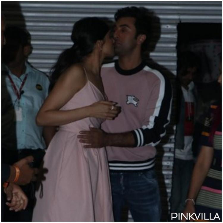 Photos: Deepika Padukone and Ranbir Kapoor hang out like old friends after attending an event together