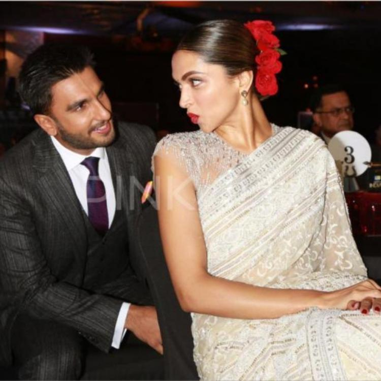 Ranveer Singh has a hilarious take on Deepika Padukone's stern expressions; Check it out