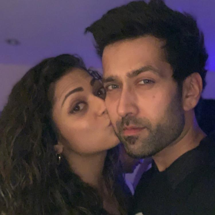 Drashti Dhami shares adorable pictures with Nakuul Mehta on his birthday with a quirky caption; Check it out