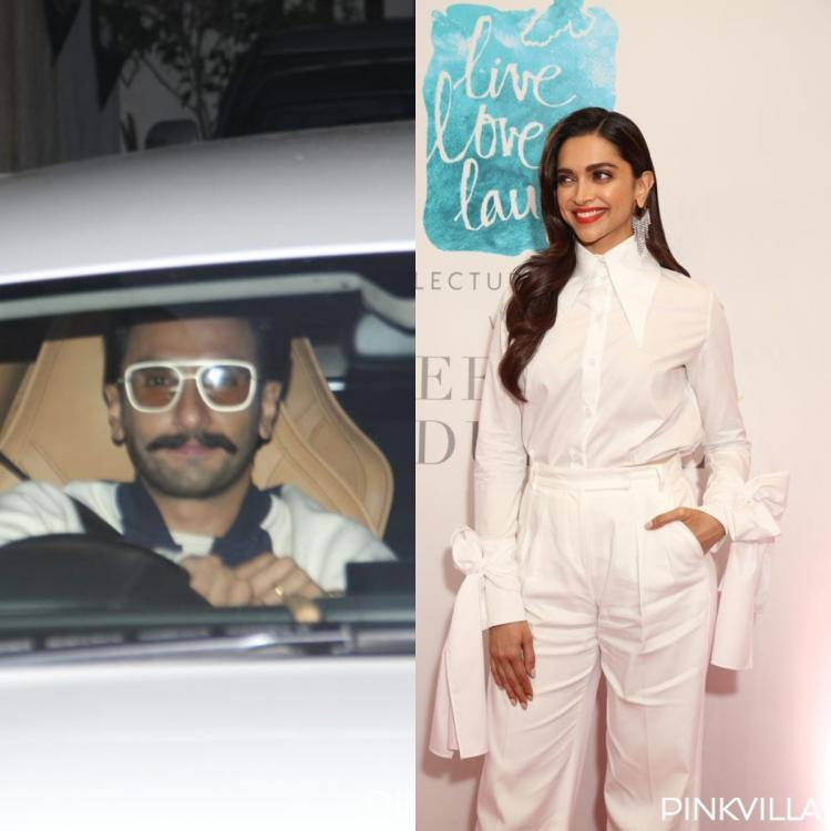 PHOTOS: Deepika Padukone makes a stylish appearance; Ranveer Singh gets papped in the city