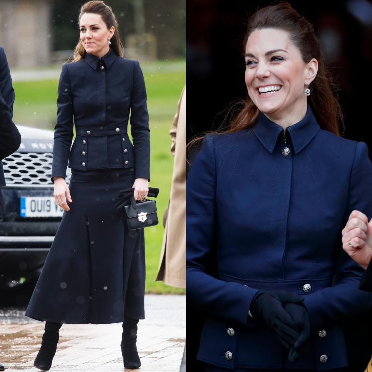 Kate Middleton in Alexander McQueen and Ralph Lauren looks nothing short of regal and we are in awe of her
