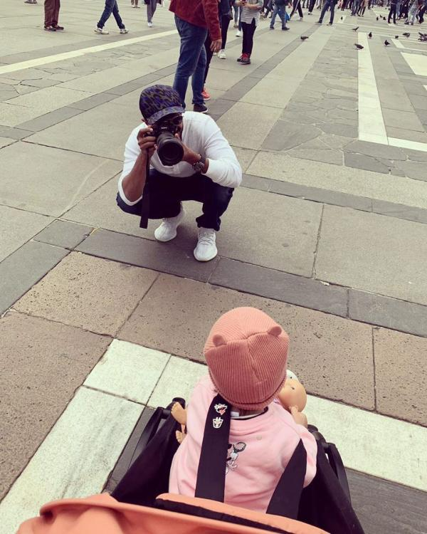 Dulquer Salmaan shares the cutest throwback picture with his daughter Maryam; Says 'Missing my muse'