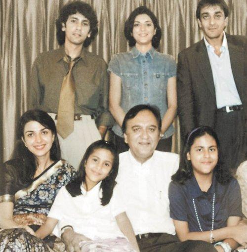 Wedding Family Photo List: Old Family Pic. Of Sanjay Dutt