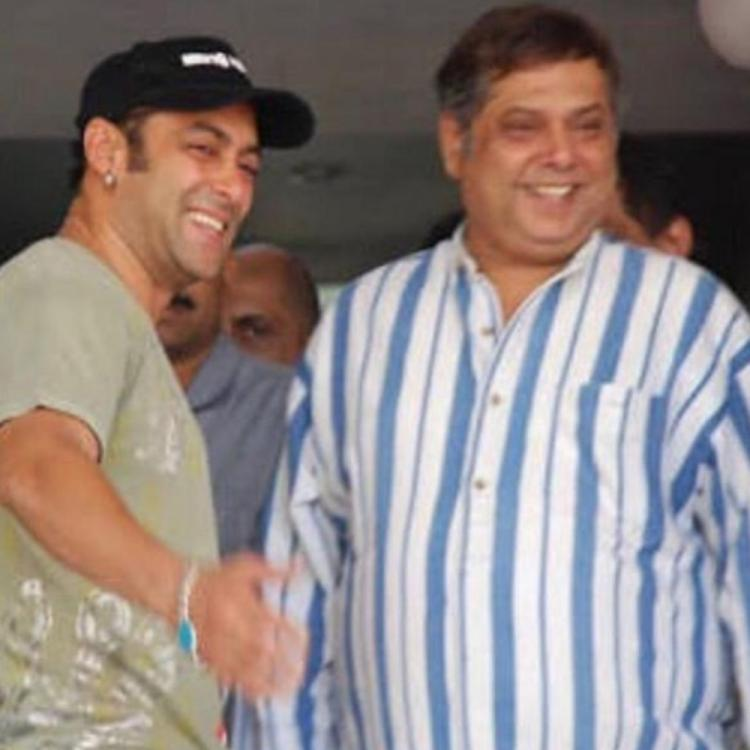 Salman Khan wishes David Dhawan on the latter's birthday by sharing a throwback PIC; take a look