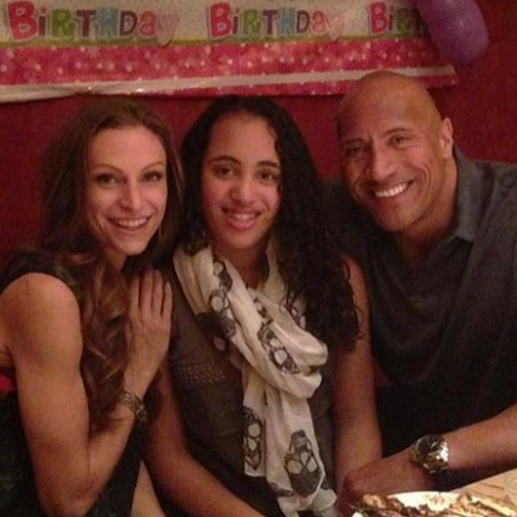 Dwayne Johnson's eldest daughter turns 18 today.