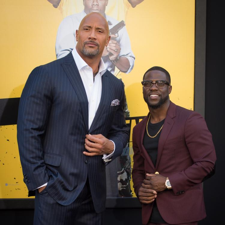 Dwayne Johnson Feels Kevin Hart Is Lucky He Survived The