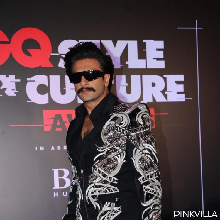 GQ Style Awards 2019; Ranveer Singh grabs attention by sporting a macho look at the event