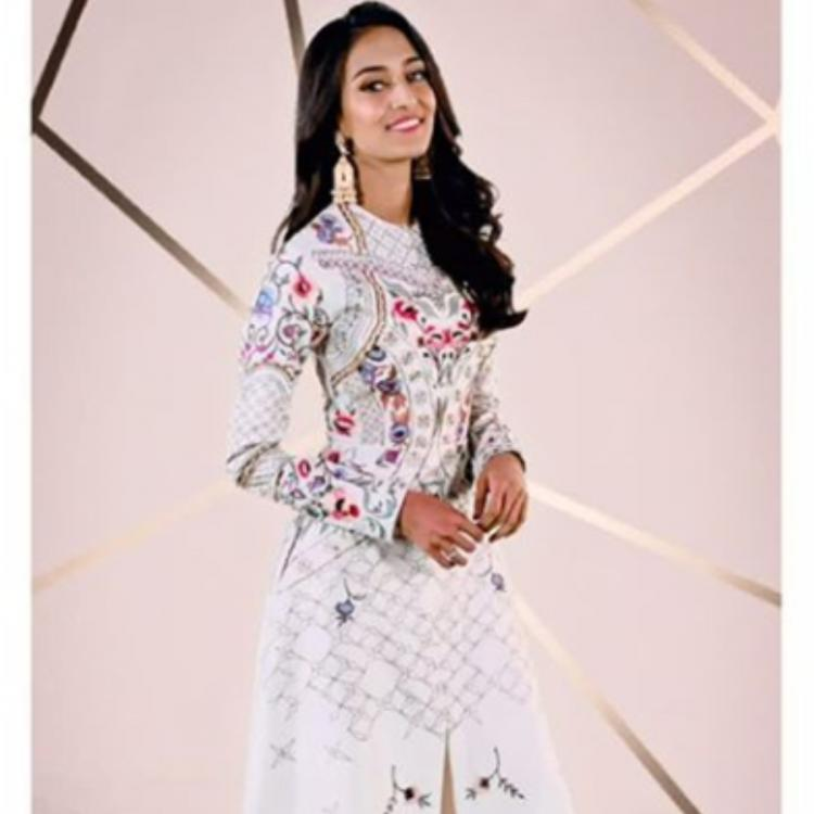 Erica Fernandes is a sigh t to behold as she poses in an all white ethnic ensemble; check it out