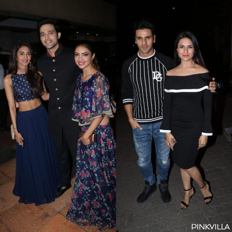 Photos: Erica Fernandes, Parth Samthaan, Divyanka Tripathi & others at Ekta Kapoor's baby's naming ceremony
