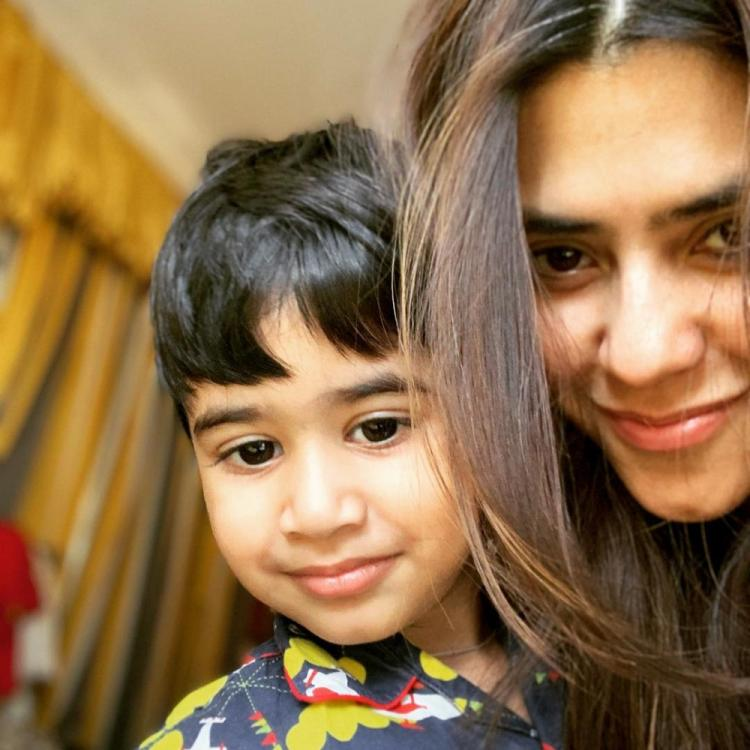 Ekta Kapoor is in complete awe of her nephew Laksshya's laughter as she shares a sweet video; WATCH