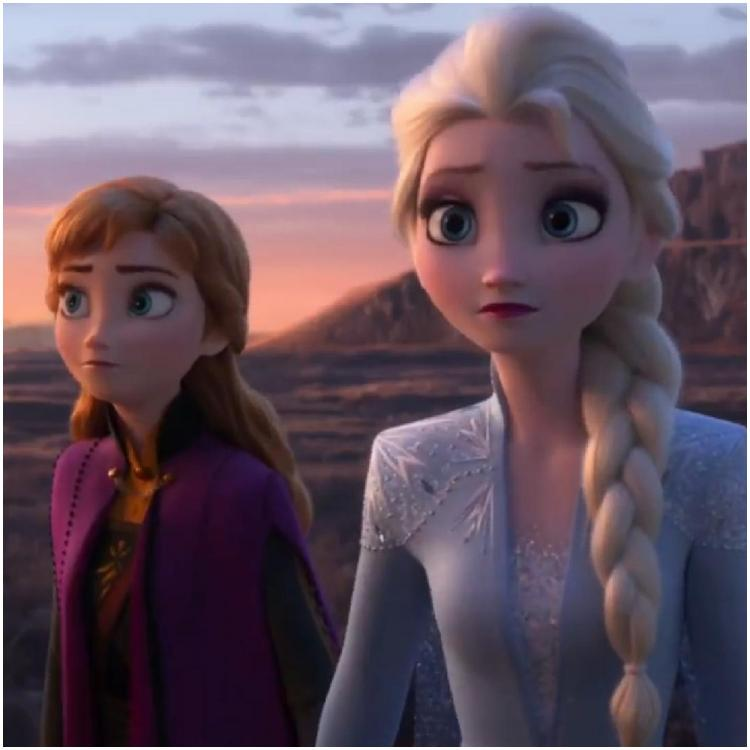 Hollywood,Frozen 2,Elsa,Anna,Kristoff,Olaf