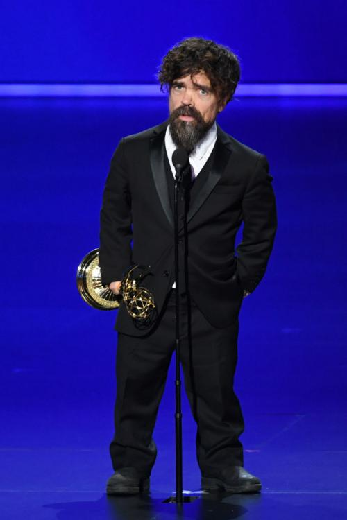 Peter Dinklage won the Emmy for Outstanding Supporting Actor in a Drama Series for Game of Thrones at Emmys 2019.