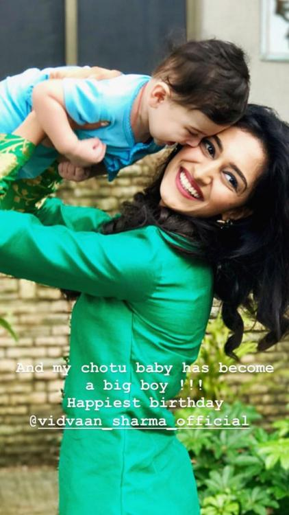Erica Fernandes wishes her Kuch Rang Pyar Ke Aise Bhi's reel son a happy birthday with an adorable photo