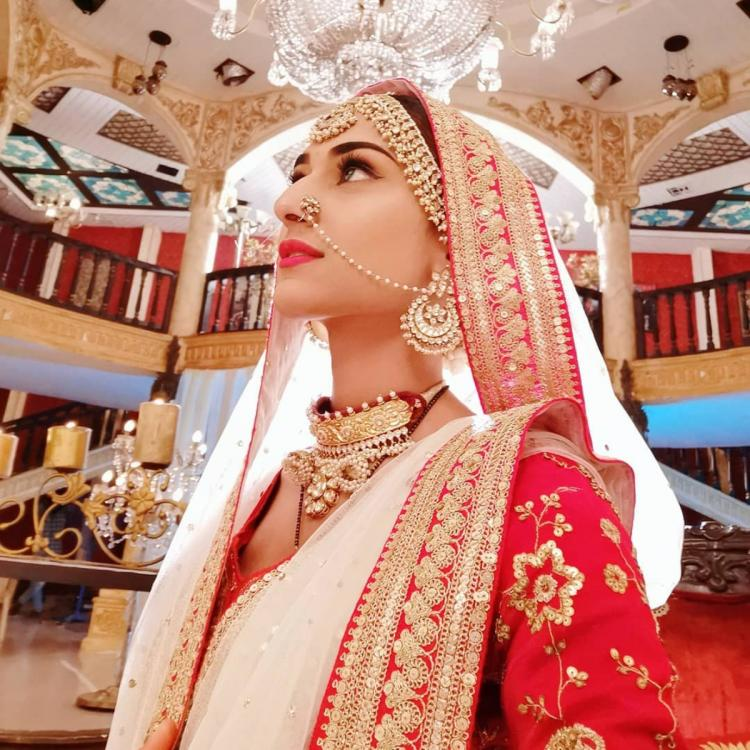 Kasautii Zindagii Kay actor Erica Fernandes shares a beautiful picture of her latest bridal look; Check it out