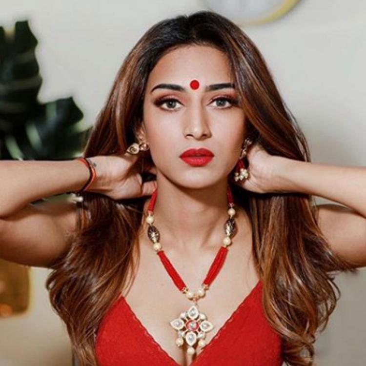 Kasautii Zindagii Kay actress Erica Fernandes looks ethereal in her all red dolled up look; See pic