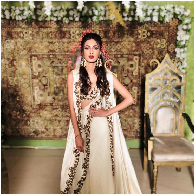 Kasautii Zindagii Kay actress Erica Fernandes looks stunning in a white embellished ensemble; view PICS