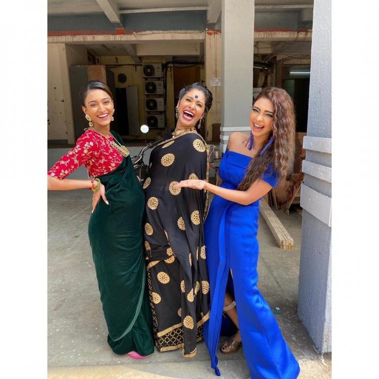 Kasautii Zindagii Kay trio Erica Fernandes, Pooja Banerjee and Shubhaavi is all about fun & laughter; See Pic