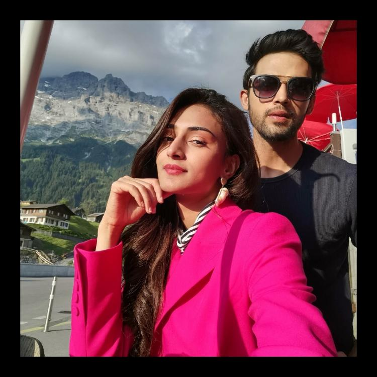 Erica Fernandes and Parth Samthaan's throwback picture from Switzerland is all you need to brighten your day