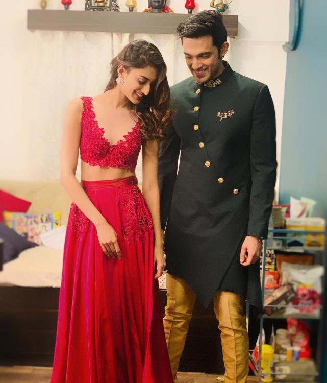 Kasautii Zindagii Kay: Parth Samthaan, Erica Fernandes aka AnuPre's latest romantic pic from sets is endearing