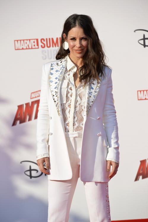 Evangeline Lilly fears for the political aftermath of the coronavirus pandemic.