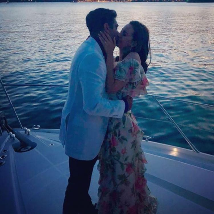 PHOTOS: Evelyn Sharma gets engaged to beau Tushaan Bhindi in Sydney in the most romantic way