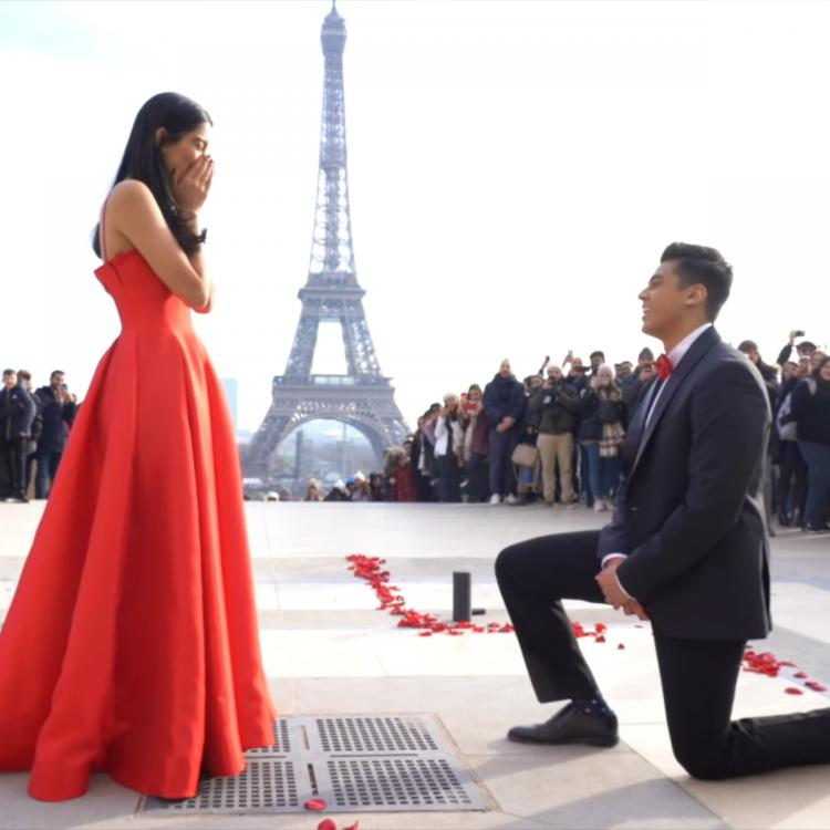 Valentine's Day 2020 Special: Shivani Bafna on her viral Paris proposal video: Our parents were in tears