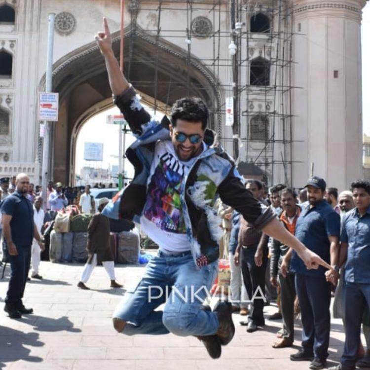 EXCLUSIVE: Vicky Kaushal visits Hyderabad for the promotions of Bhoot Part One: The Haunted Ship