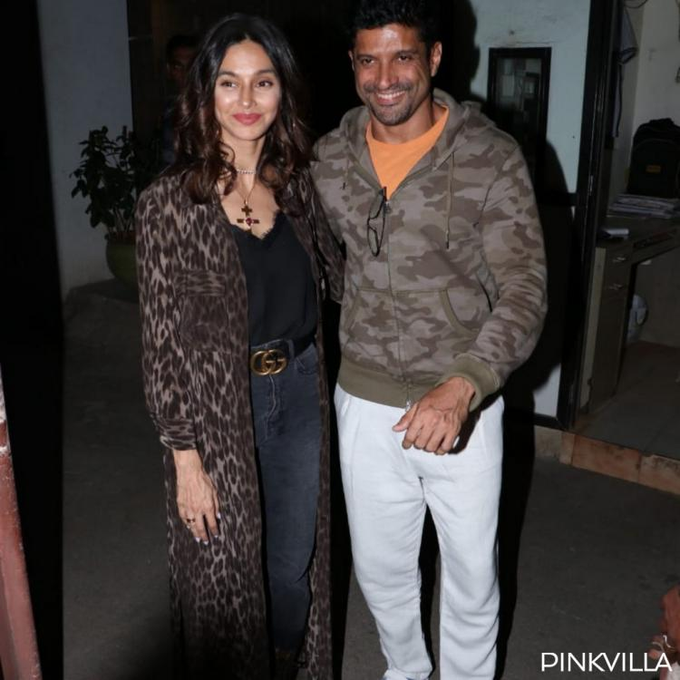 PHOTOS: Farhan Akhtar and girlfriend Shibani Dandekar are all smiles as they head out in the city
