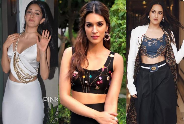 From Sonakshi Sinha to Kriti Sanon: 5 crop tops that we can use as blouses
