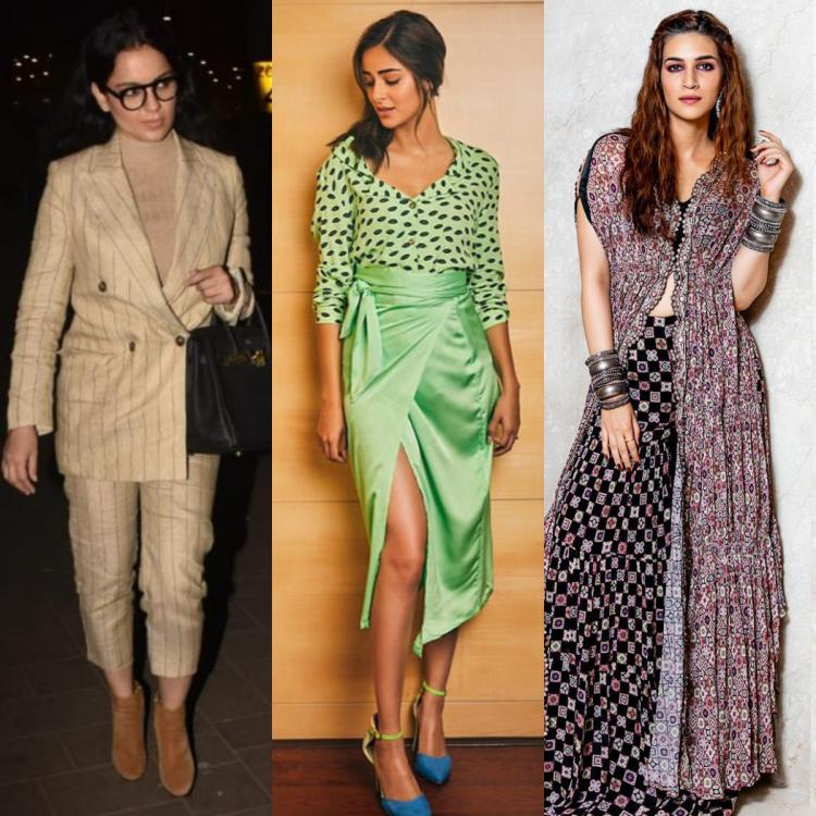Fashion Update: Kangana Ranaut, Ananya Panday, Kriti Sanon; Best & Worst dressed celebs of the day gone by