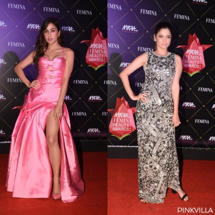 PHOTOS: Sara Ali Khan dazzles in pink; Ankita Lokhande looks stunning in silver at the Femina Beauty Awards