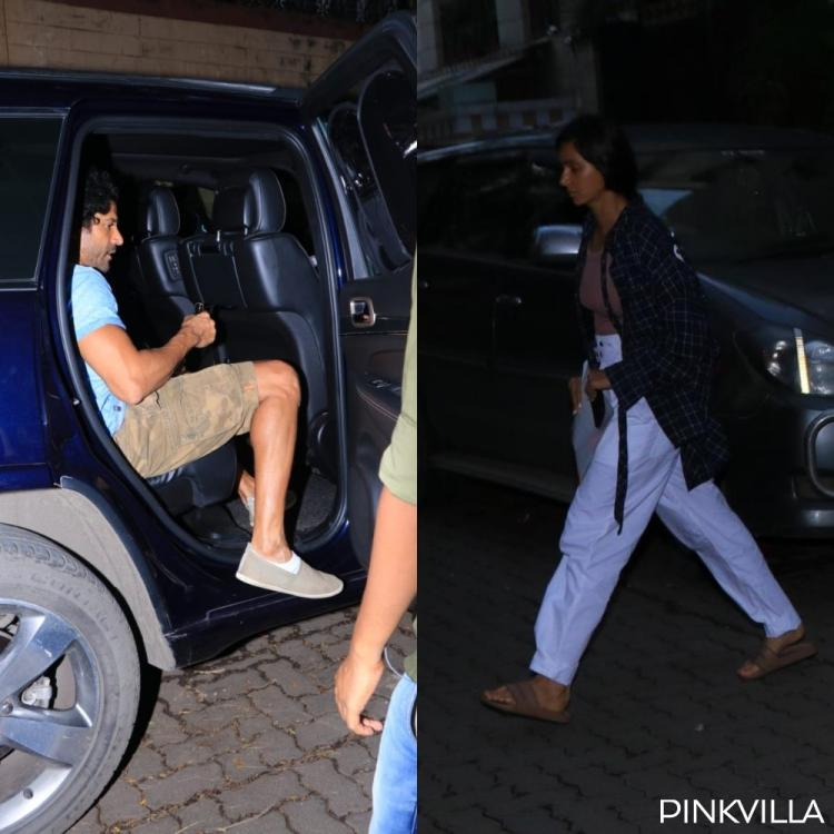 PHOTOS: Farhan Akhtar & GF Shibani Dandekar spotted together as they step out in the city