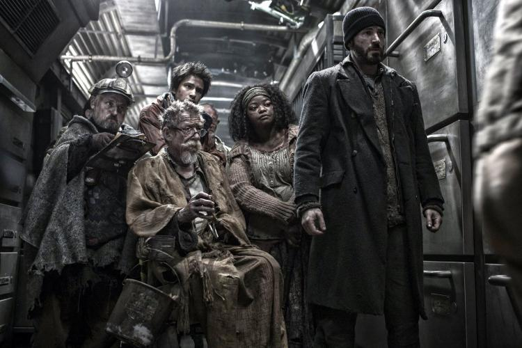 Chris Evans and Octavia Spencer starred together in Bong Joon-ho's ambitious film, Snowpiercer (2013).