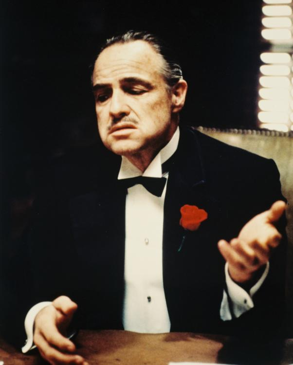 Marlon Brando won the Best Actor Oscar for The Godfather at the 45th Academy Awards in 1973.