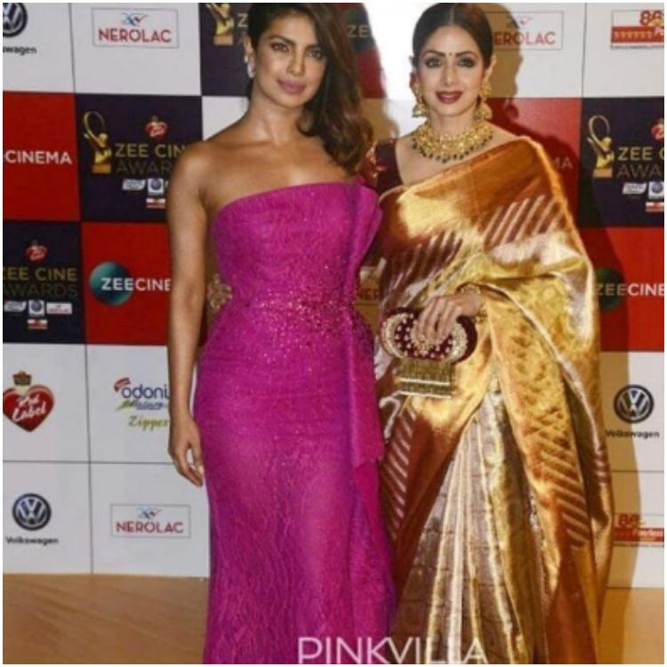 Flashback Friday: When Priyanka Chopra bumped into Sridevi at a red carpet event and left the internet in awe