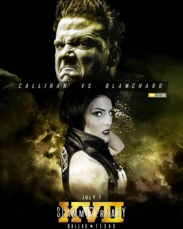 Sami Callihan and Tessa Blanchard went all-out during their intergender wrestling match at Slammiversary XVII.