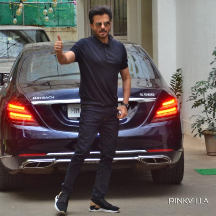 PHOTOS: Anil Kapoor looks 'jhakaas' as he steps out in style and gets papped in the city
