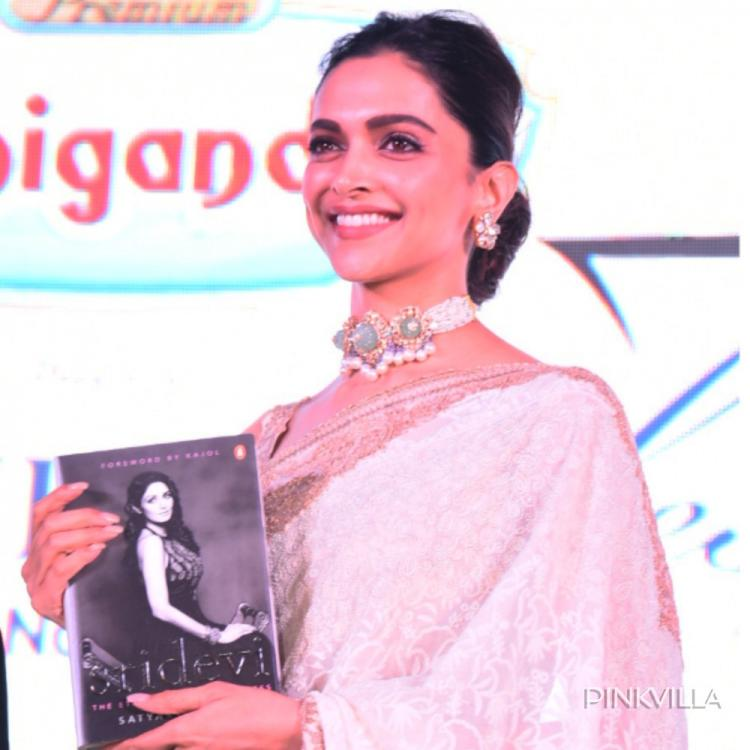 Deepika Padukone opens up on bond with Sridevi; This was a person I was extremely fond of at a personal level