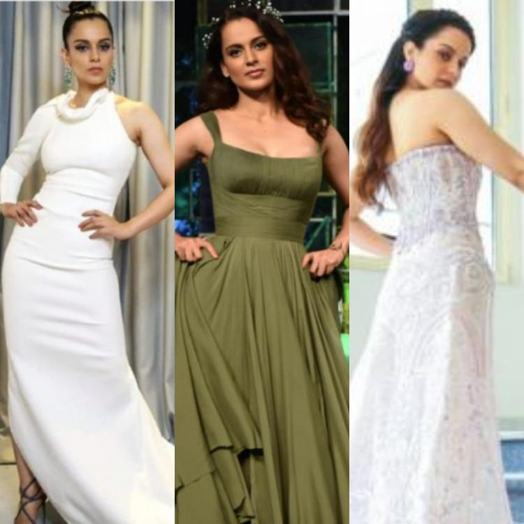 Kangana Ranaut: Thalaivi star looks absolutely magnificent and stuns in THESE gowns; Check it out