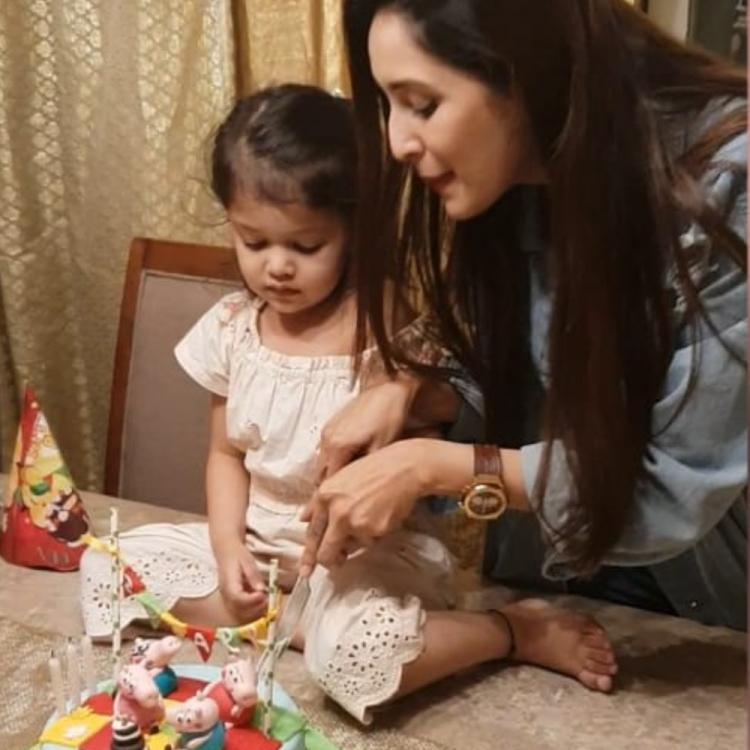 Exclusive: Bade Achhe Lagte Hain actress Chahat Khanna celebrates daughter Zoharr's birthday