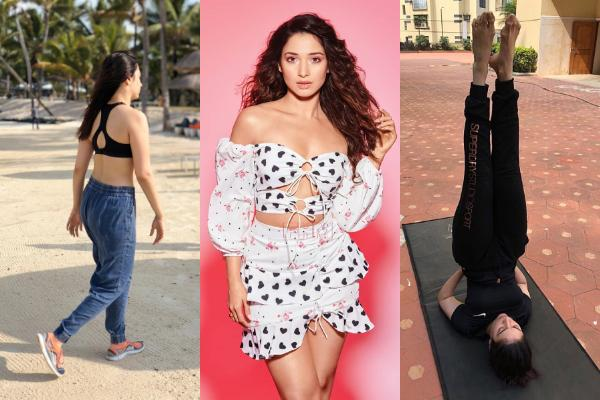 Tamannaah Bhatia's workout and diet secrets will help you achieve a fit and fab body