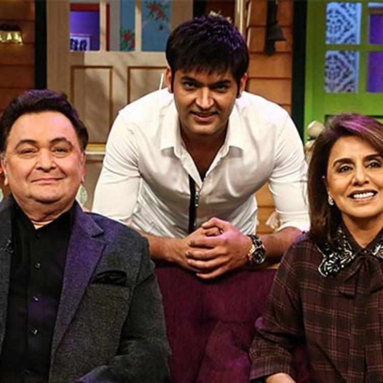 Kapil Sharma tweets a welcome post for Rishi Kapoor as the