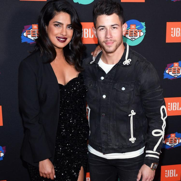 Priyanka Chopra and Nick Jonas stun in colour coordinated outfits at a music festival in Las Vegas